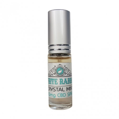CBD Crystal Mint Breath Tincture, 500mg Logo